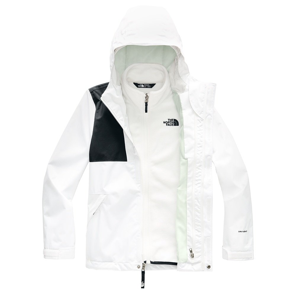 The North Face Mt View Triclimate Ski Jacket (Girls') - TNF White