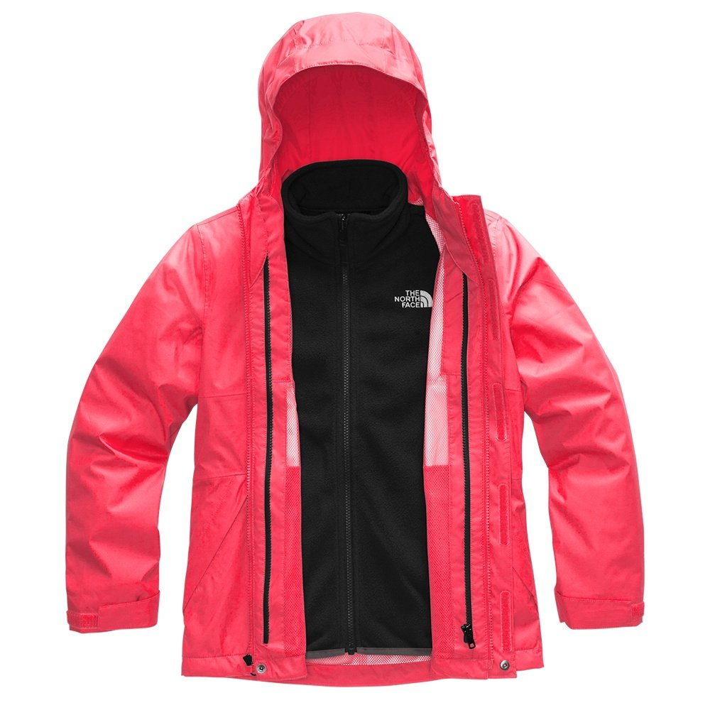 The North Face Mt View Triclimate Ski Jacket (Girls') - Paradise Pink