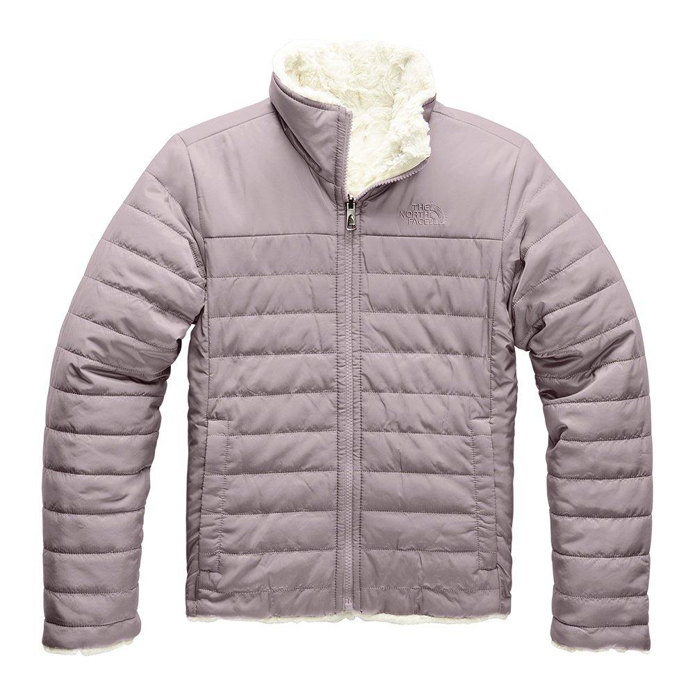 The North Face Reversible Mossbud Swirl Jacket (Girls') - Ashen Purple
