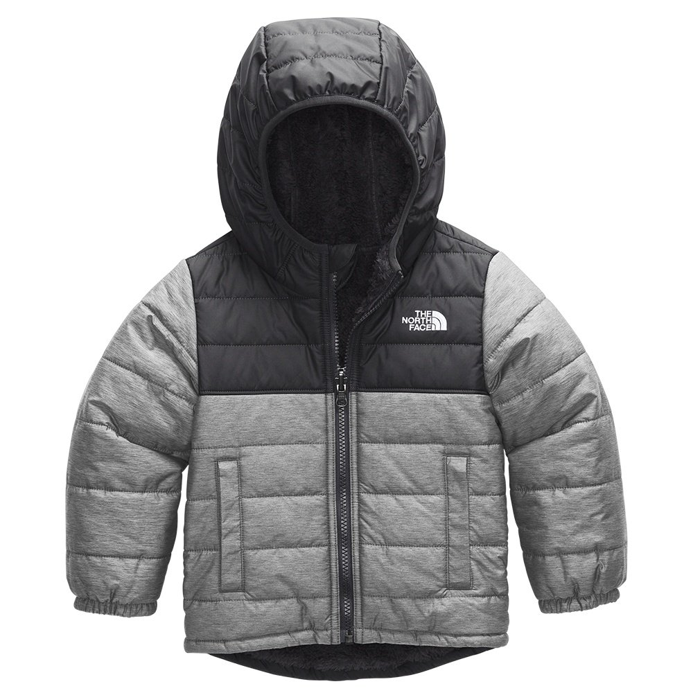 The North Face Reversible Mount Chimborazo Hoodie (Little Boys') - TNF Medium Grey Heather/TNF White