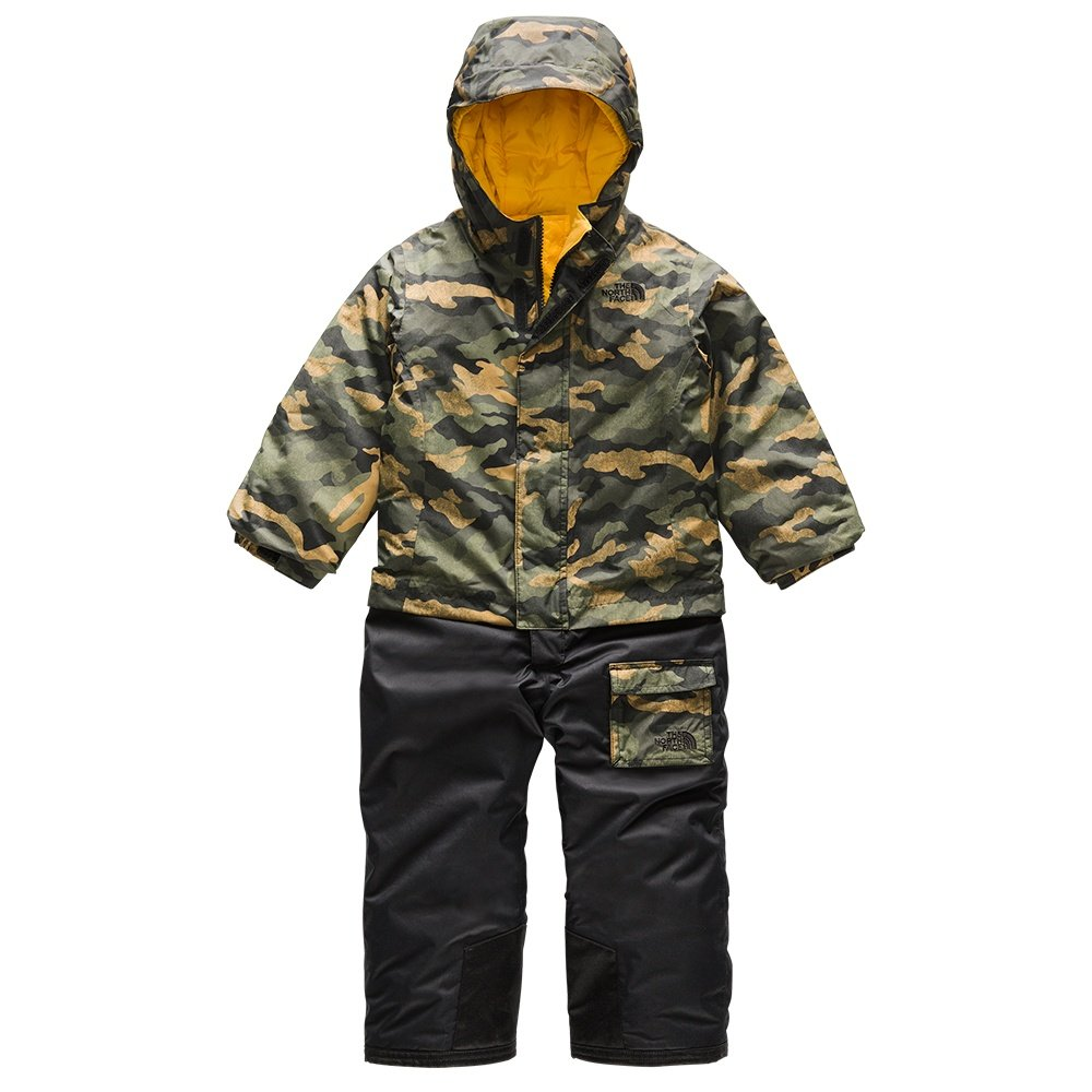 The North Face Insulated Jumpsuit (Toddlers') - British Khaki Mini Camo Print