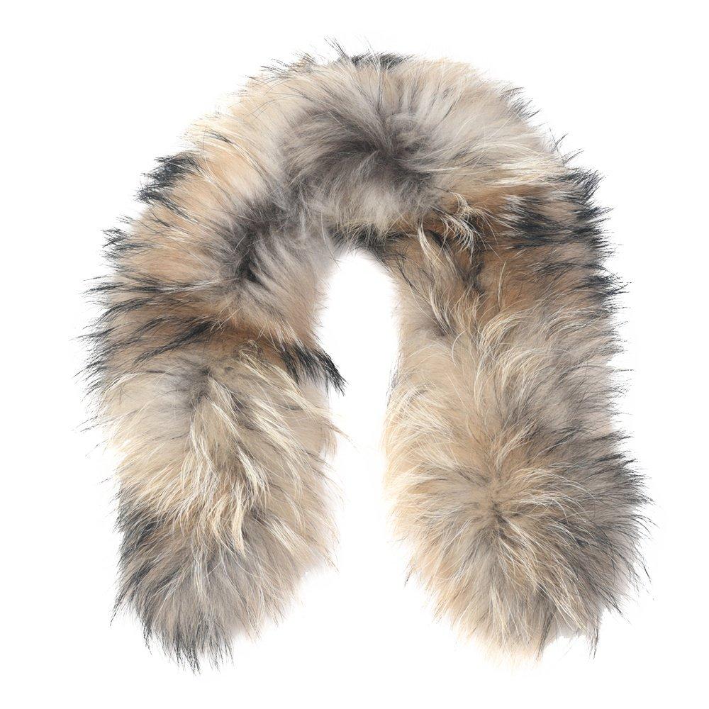 Bogner Fur-S Finnracoon Fur Hood Trim  - Natural