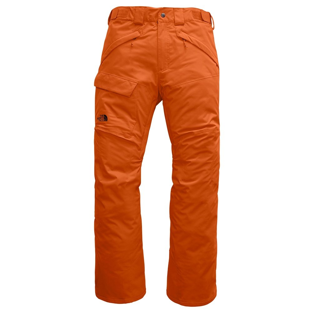 The North Face Freedom Shell Ski Pant (Men's) - Papaya Orange