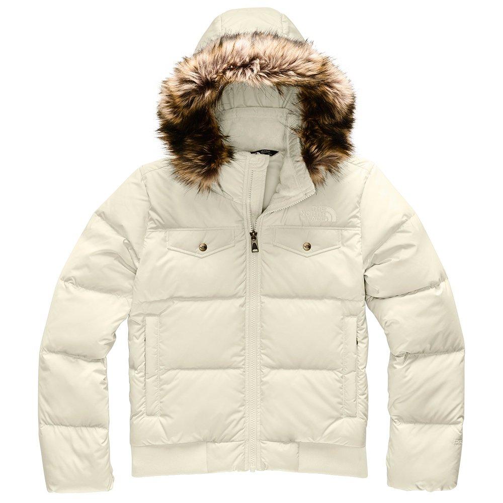 The North Face Gotham Down Bomber Ski Jacket (Girls') - Vintage White