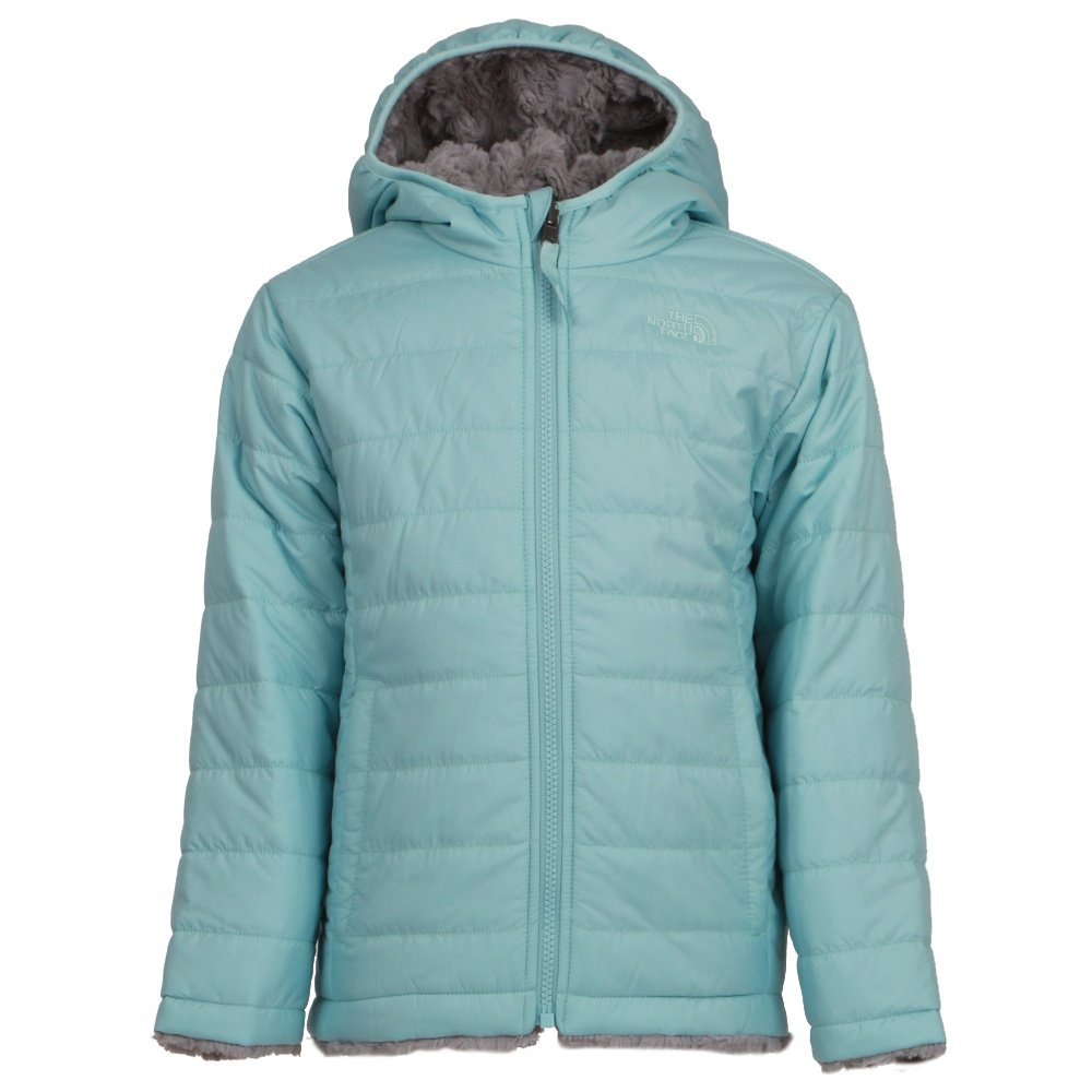 The North Face Reversible Mossbud Swirl Jacket (Toddlers') - Windmill Blue
