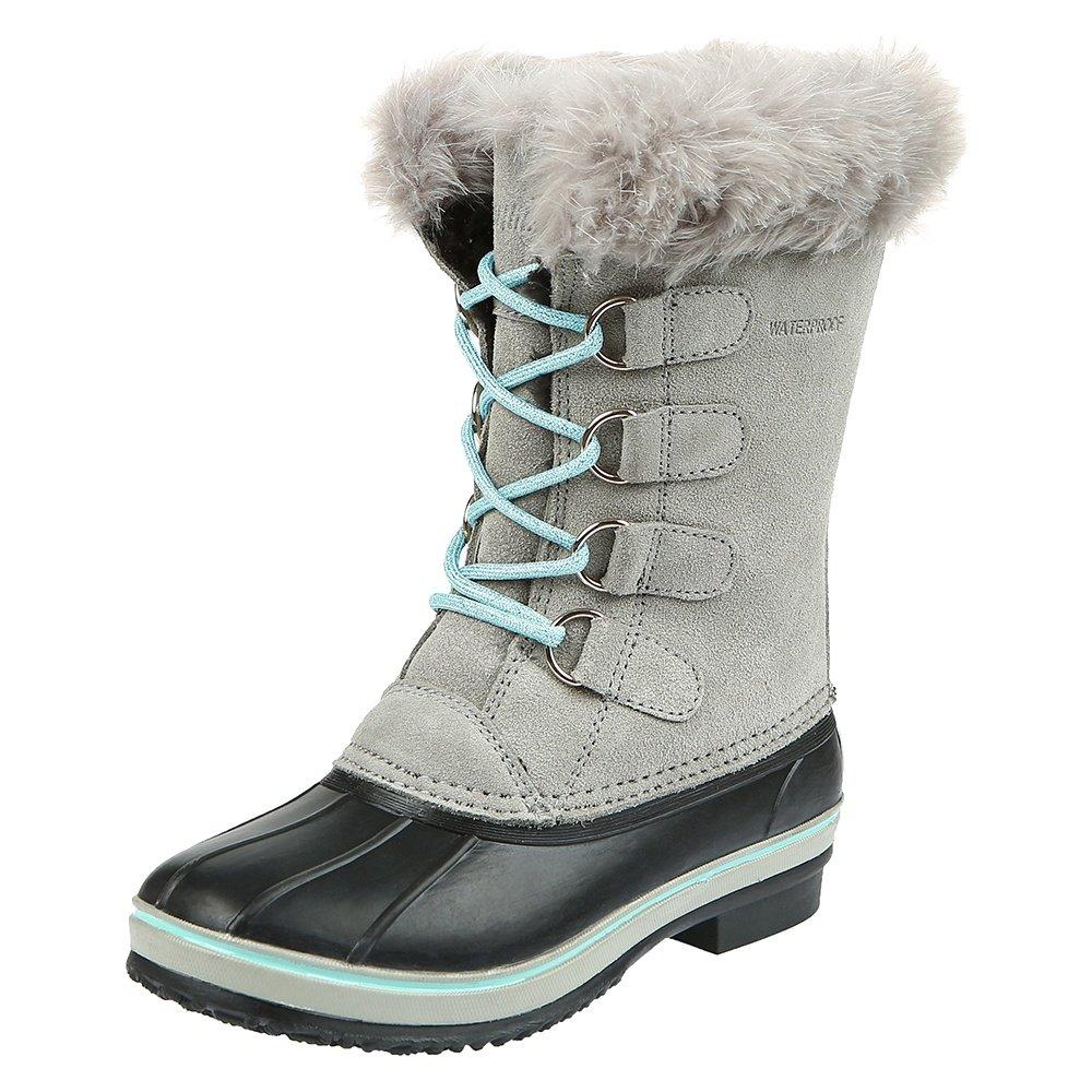 Northside Kathmandu Boot (Girls') - Light Gray/Aqua