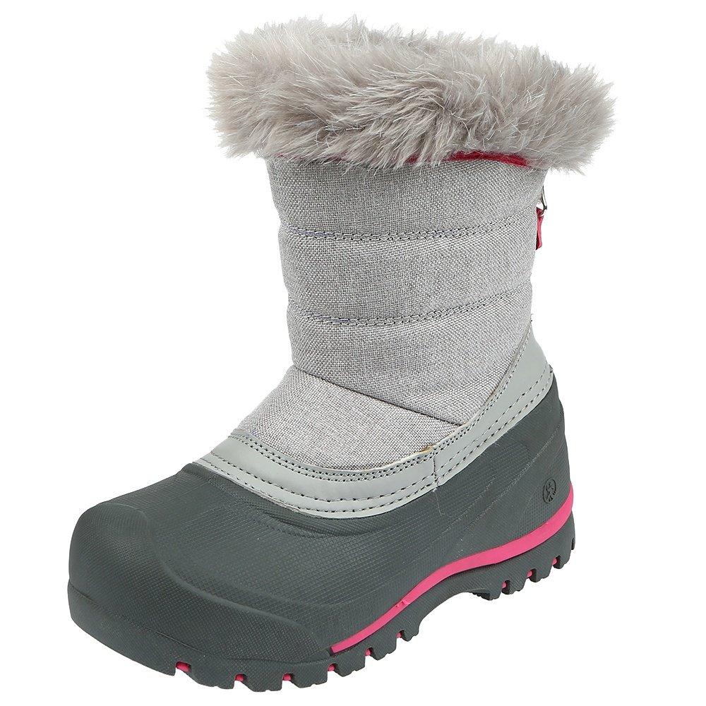 Northside Ainsley Boot (Little Girls') - Grey/Pink