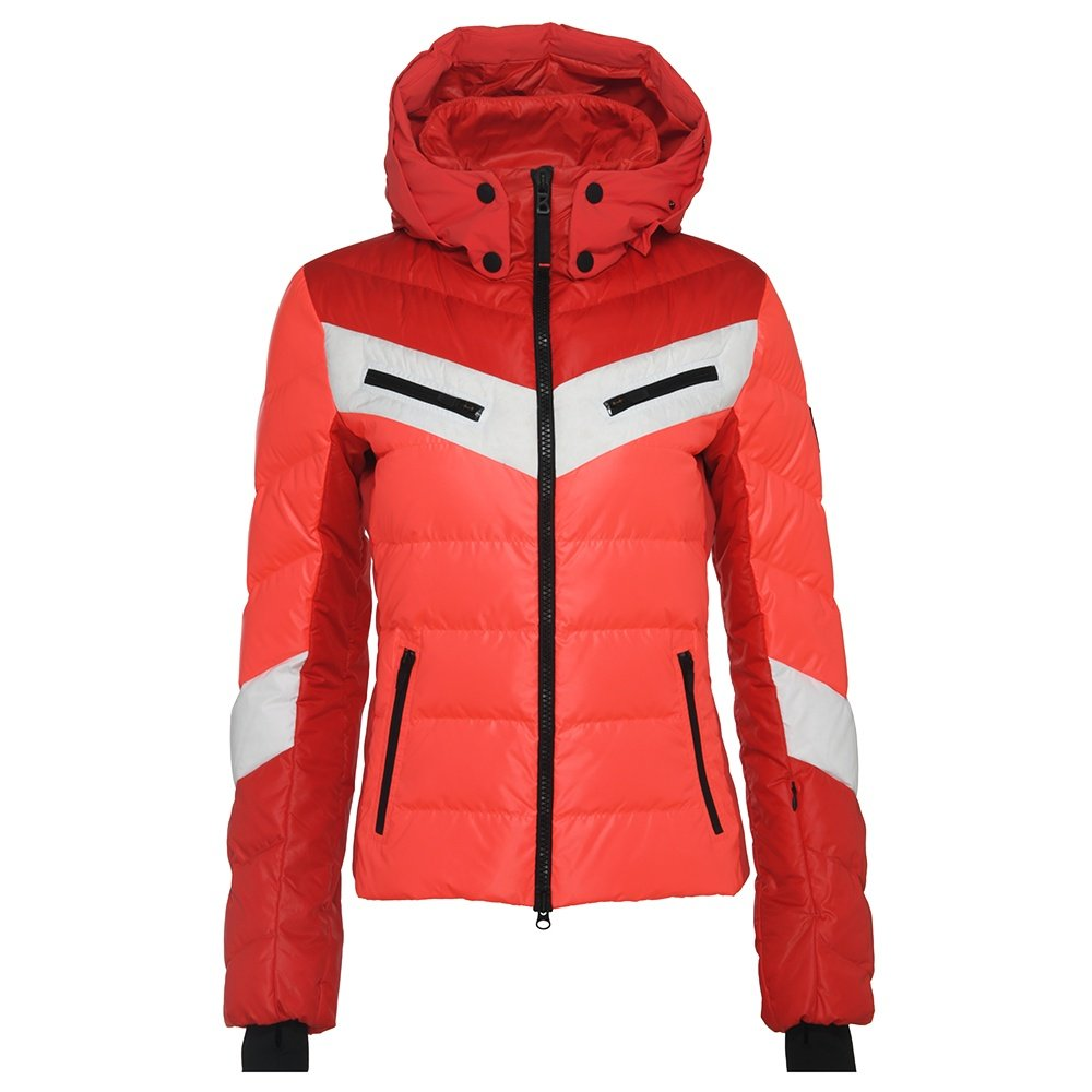 Bogner Fire + Ice Farina-D Down Ski Jacket (Women's) - Red/Orange