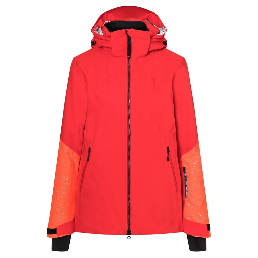Bogner Fire + Ice Hanna Insulated Ski Jacket (Women's) - Lava Red