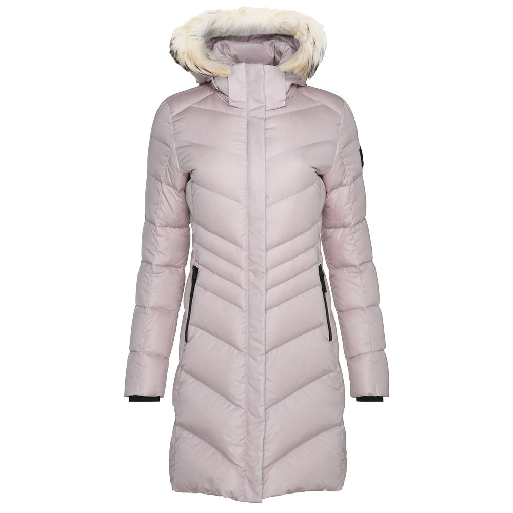 Bogner Fire + Ice Kiara2-D Down Coat with Real Fur (Women's) - Dusty Rose