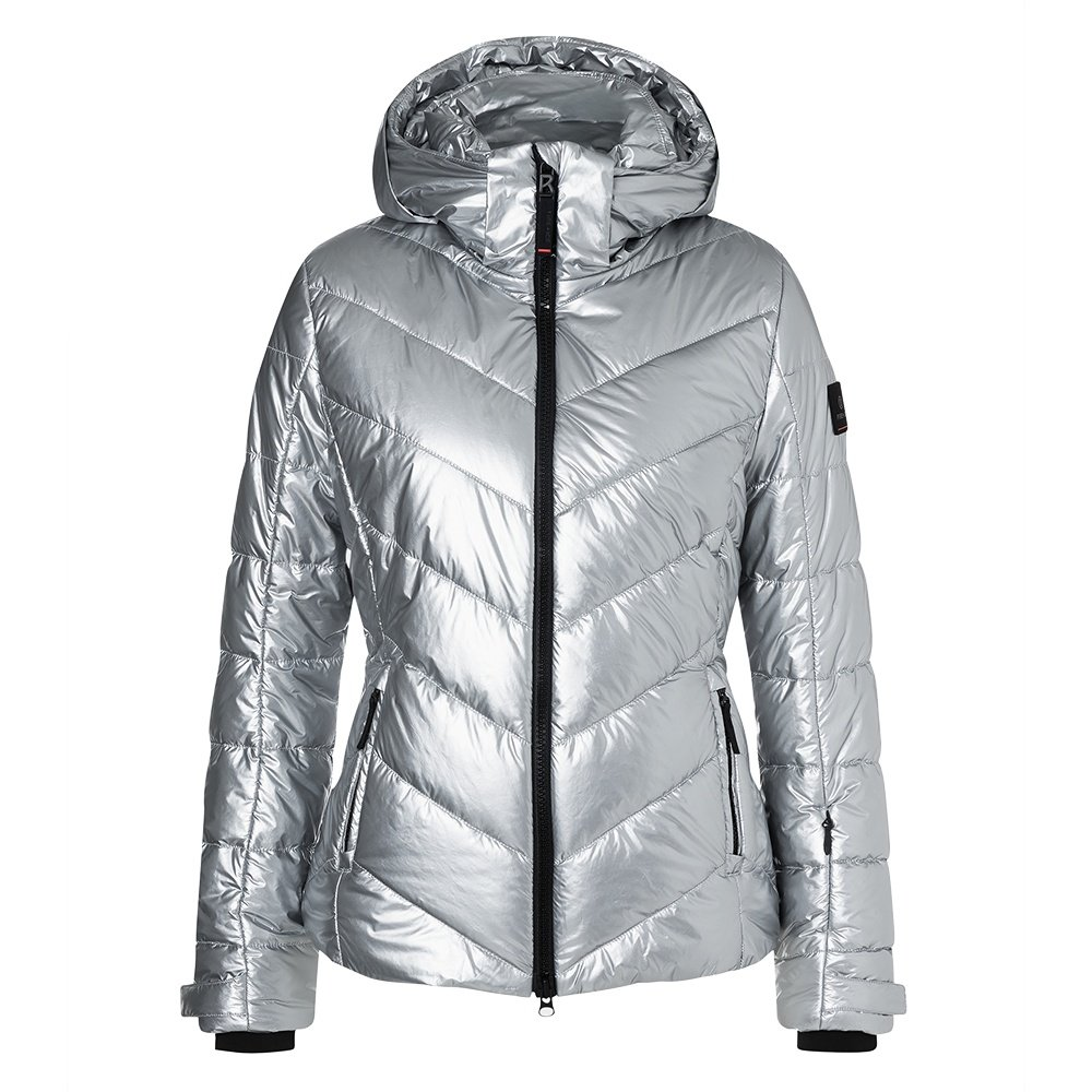 Bogner Fire + Ice Sassy2 Insulated Ski Jacket (Women's) - Liquid Silver