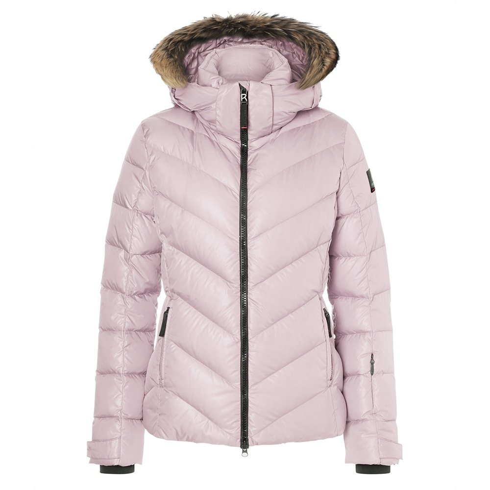 Bogner Fire + Ice Sassy2-D Down Ski Jacket with Real Fur (Women's) - Dusty Rose