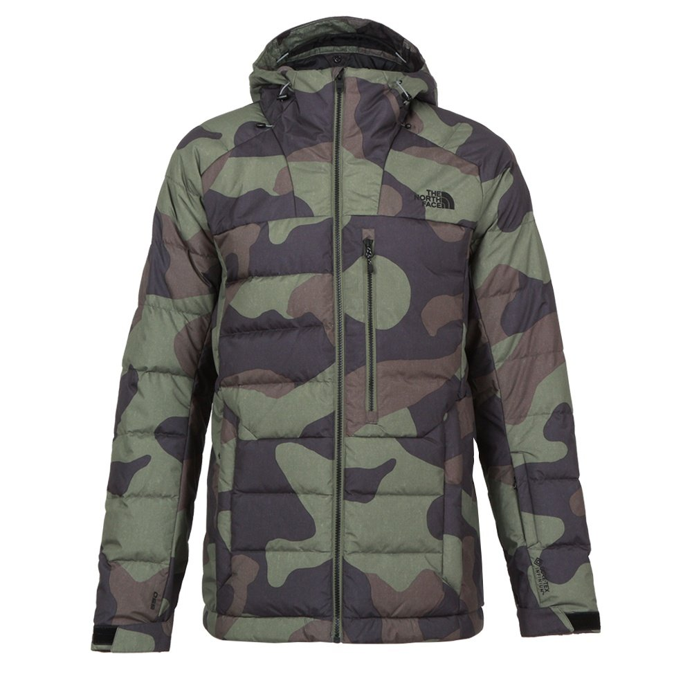 The North Face GORE-TEX Corefire Down Ski Jacket (Men's) - Four Leaf Clover Camo Print