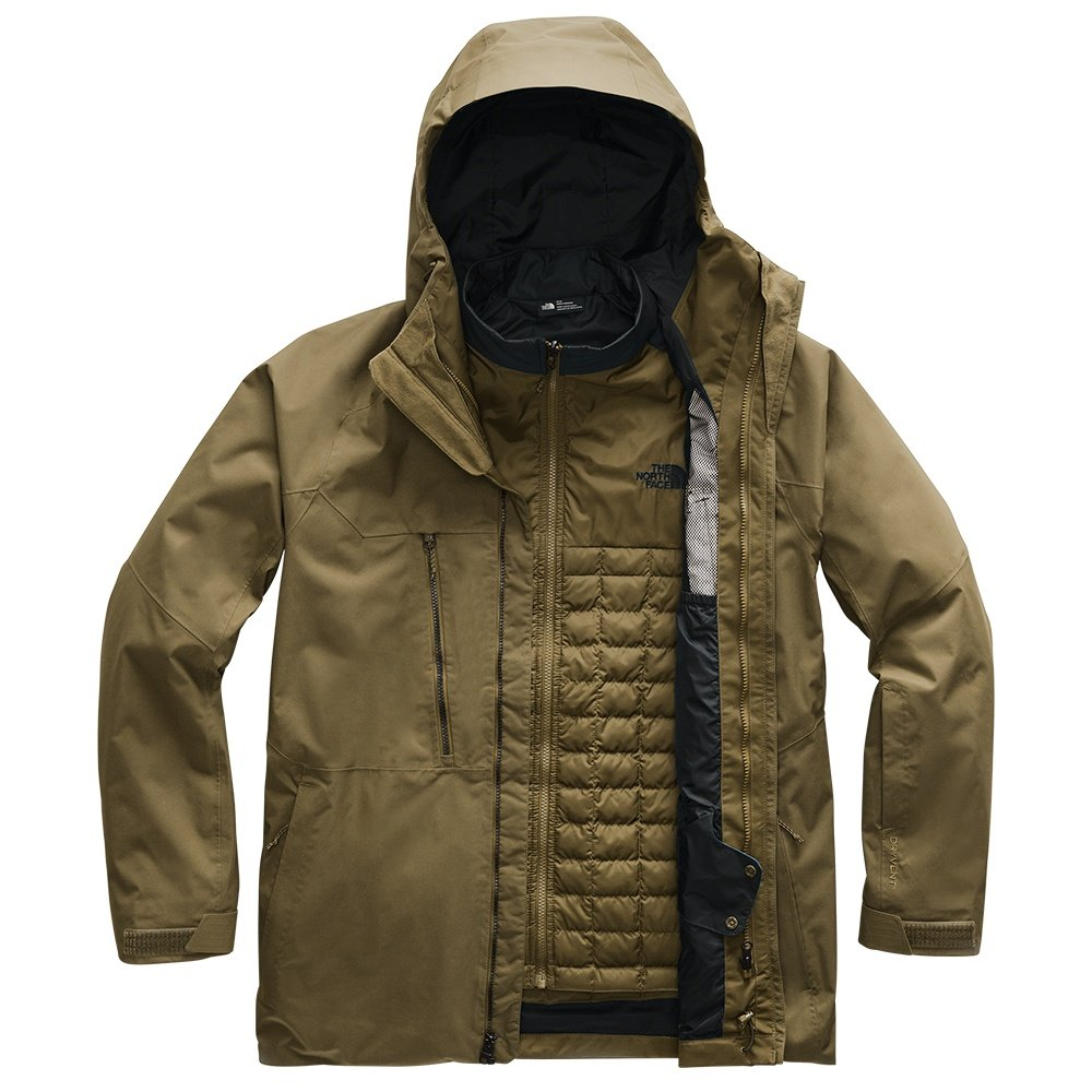 The North Face Thermoball Eco Snow Triclimate Ski Jacket (Men's) - Military Olive