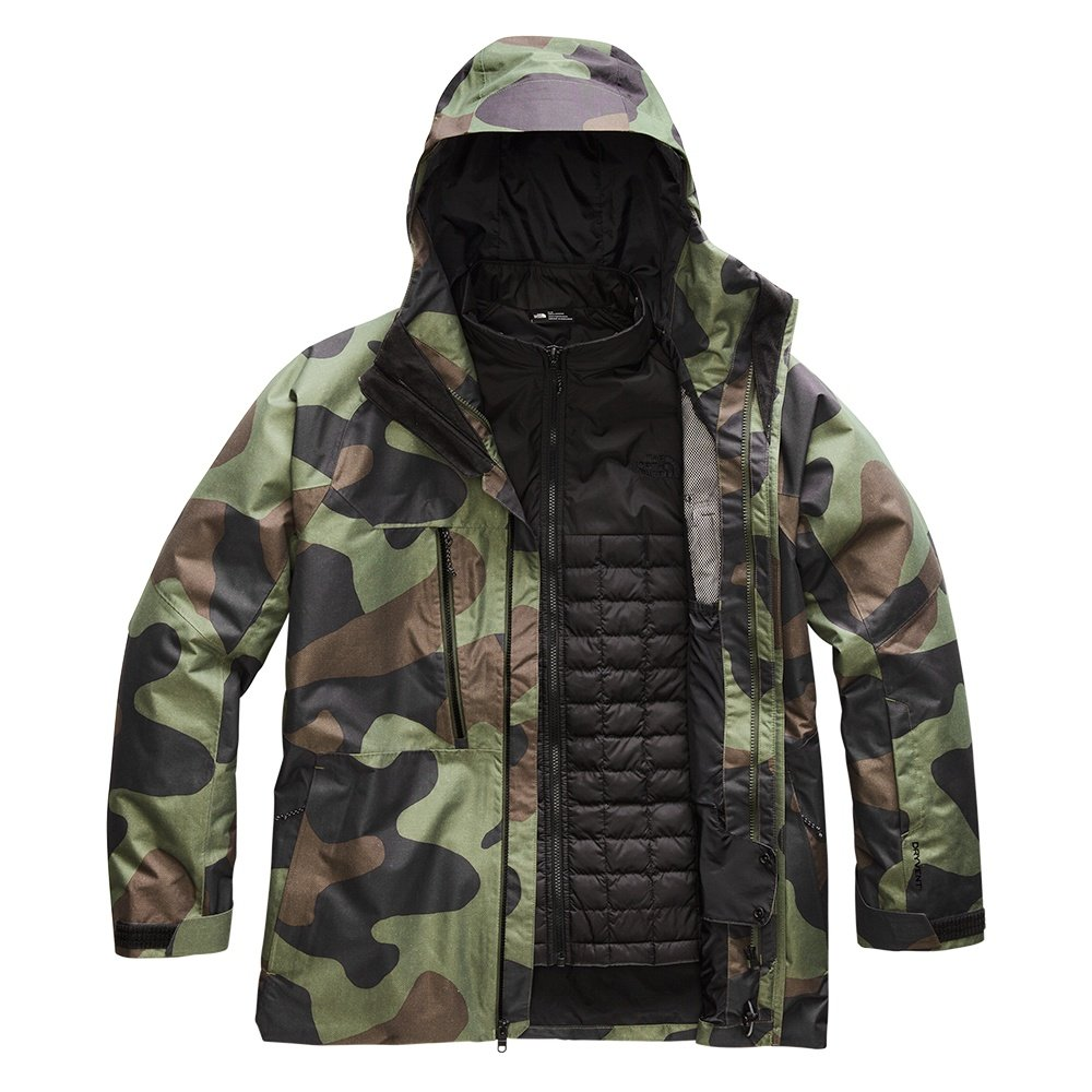 The North Face Thermoball Eco Snow Triclimate Ski Jacket (Men's) - Four Leaf Clover Camo Print