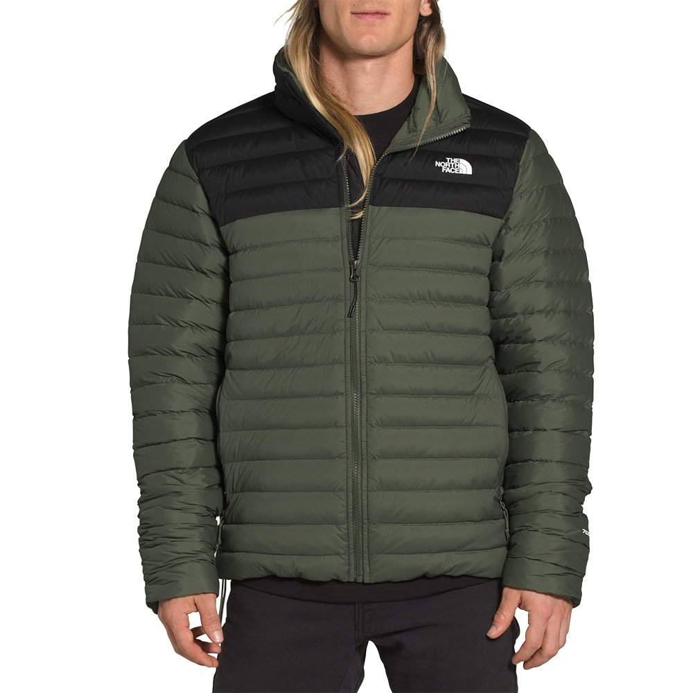 The North Face Stretch Down Jacket (Men's) - New Taupe Green/TNF Black
