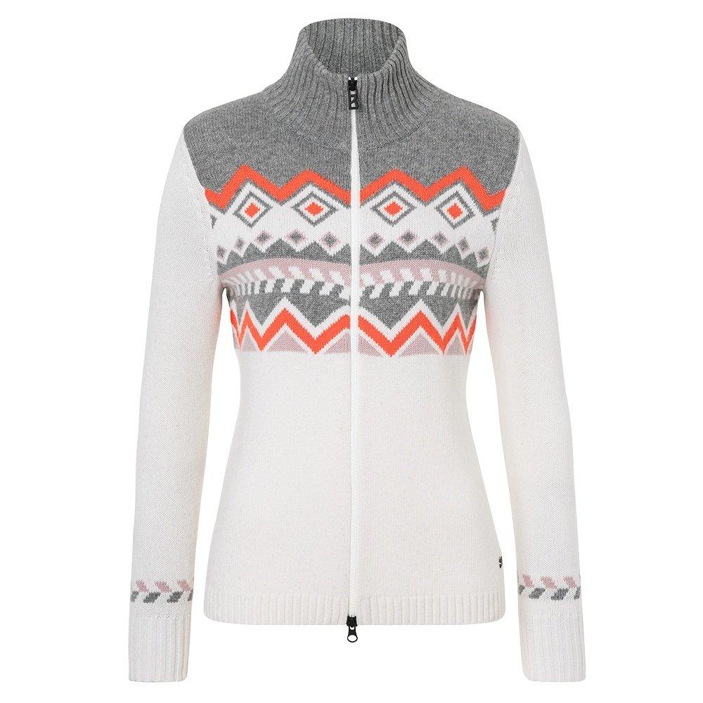 Bogner Fire + Ice Corinn Full Zip Sweater (Women's) - Off White