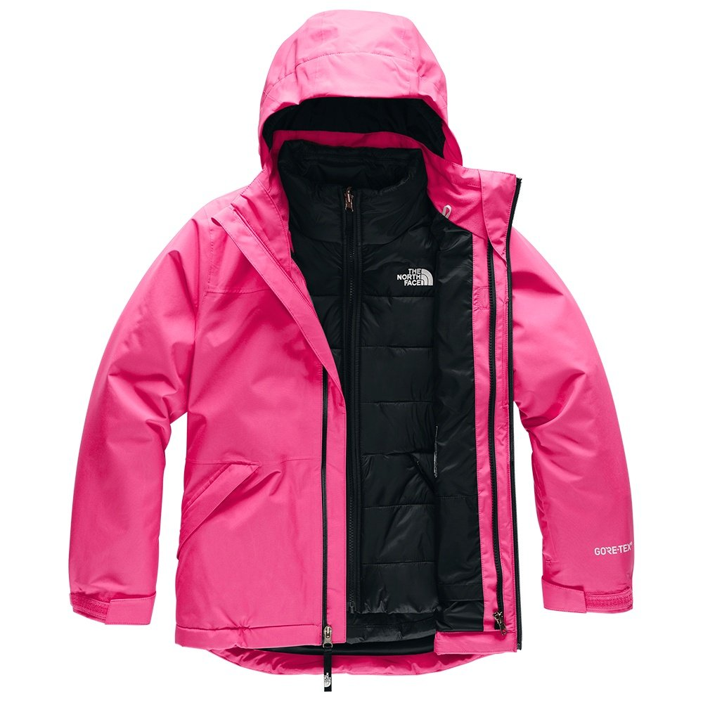 The North Face Fresh Tracks GORE-TEX Triclimate Ski Jacket (Girls') - Mr Pink