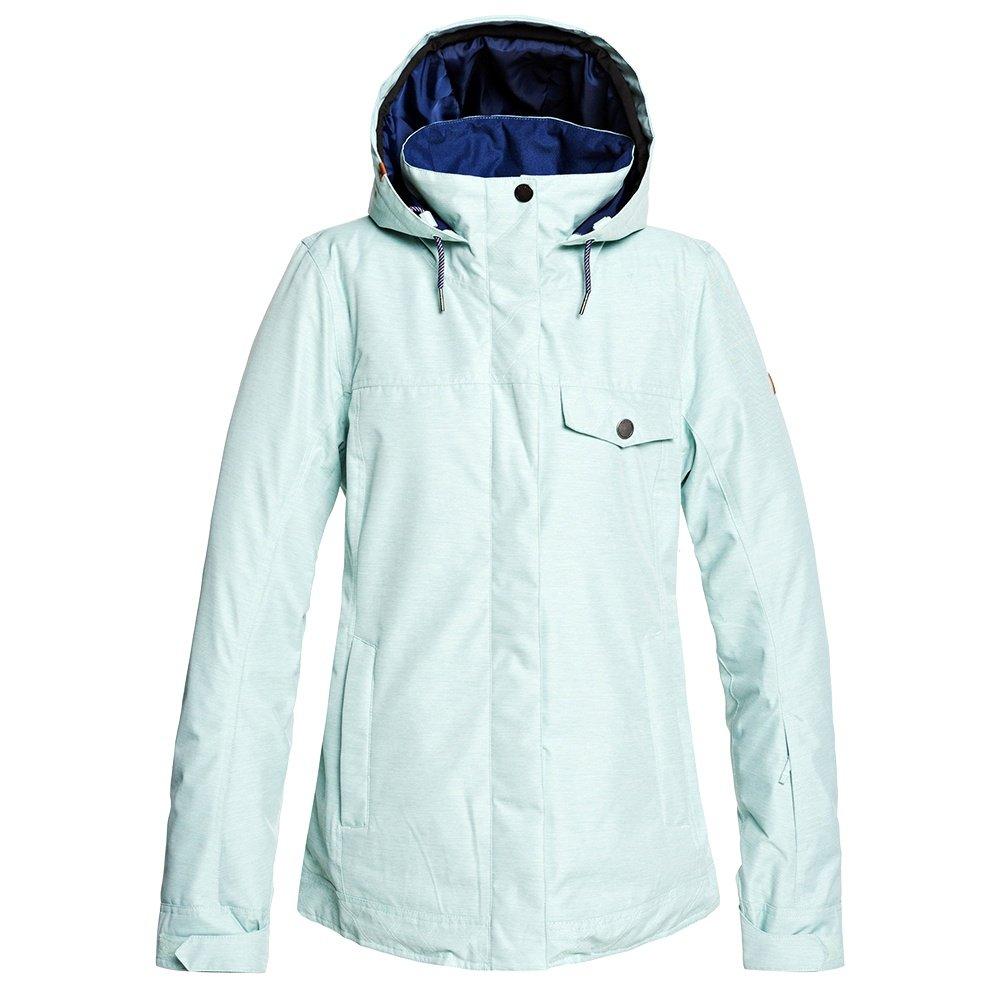 Roxy Billie Insulated Snowboard Jacket (Women's) - Harbor Gray