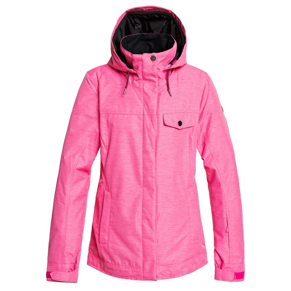 Roxy Billie Insulated Snowboard Jacket (Women's) - Beetroot Pink