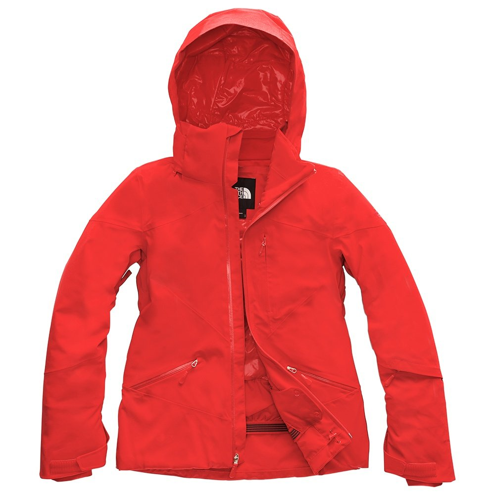 The North Face Lenado Insulated Ski Jacket (Women's) - Fiery Red