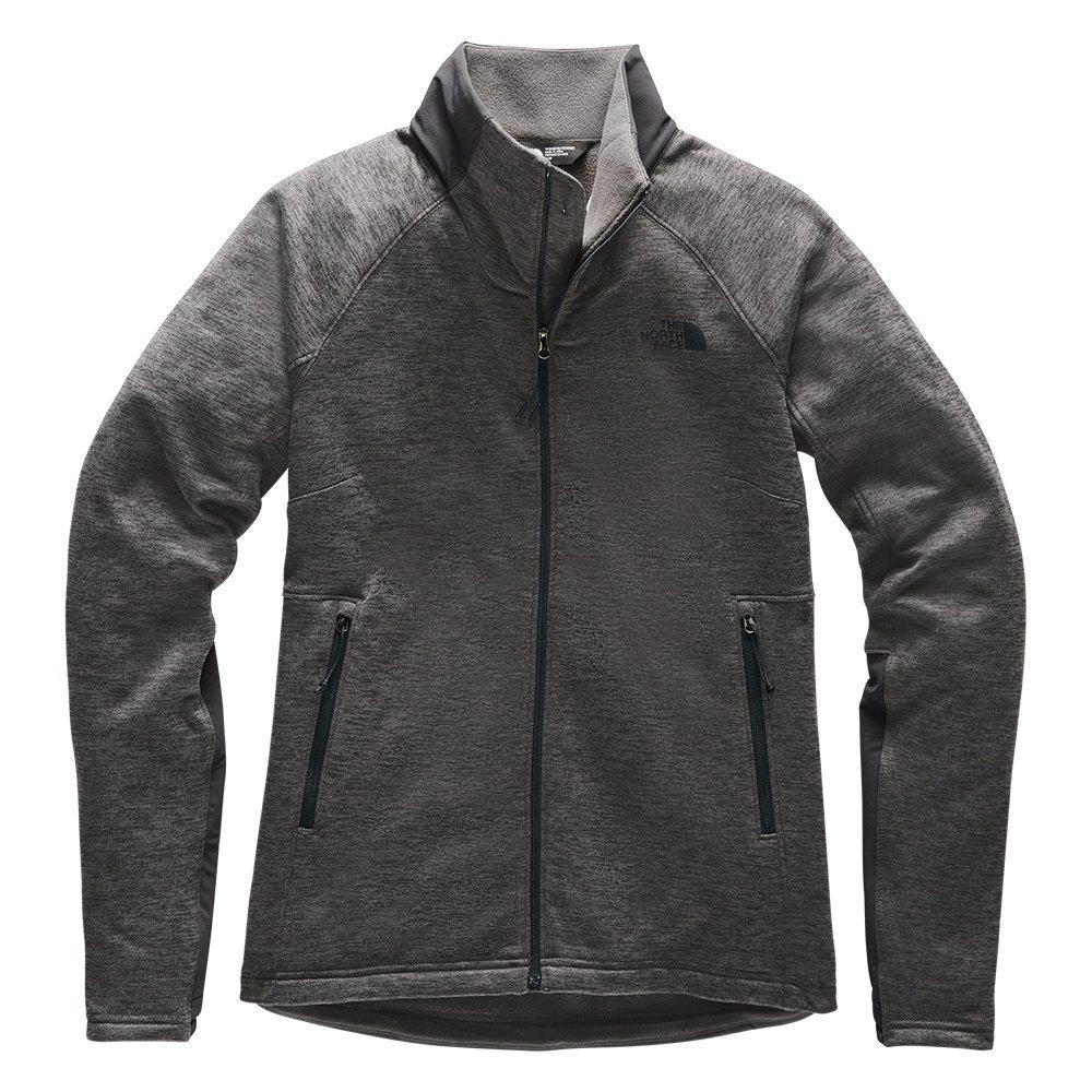 The North Face Shastina Stretch Full Zip Jacket (Women's) - TNF Dark Grey/Asphalt Grey