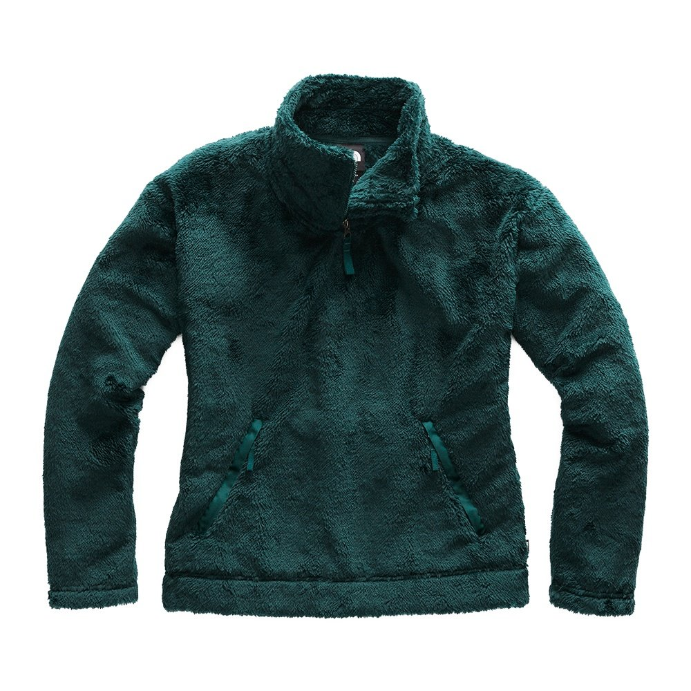 The North Face Furry Fleece Pullover Mid-Layer (Women's) - Ponderosa Green