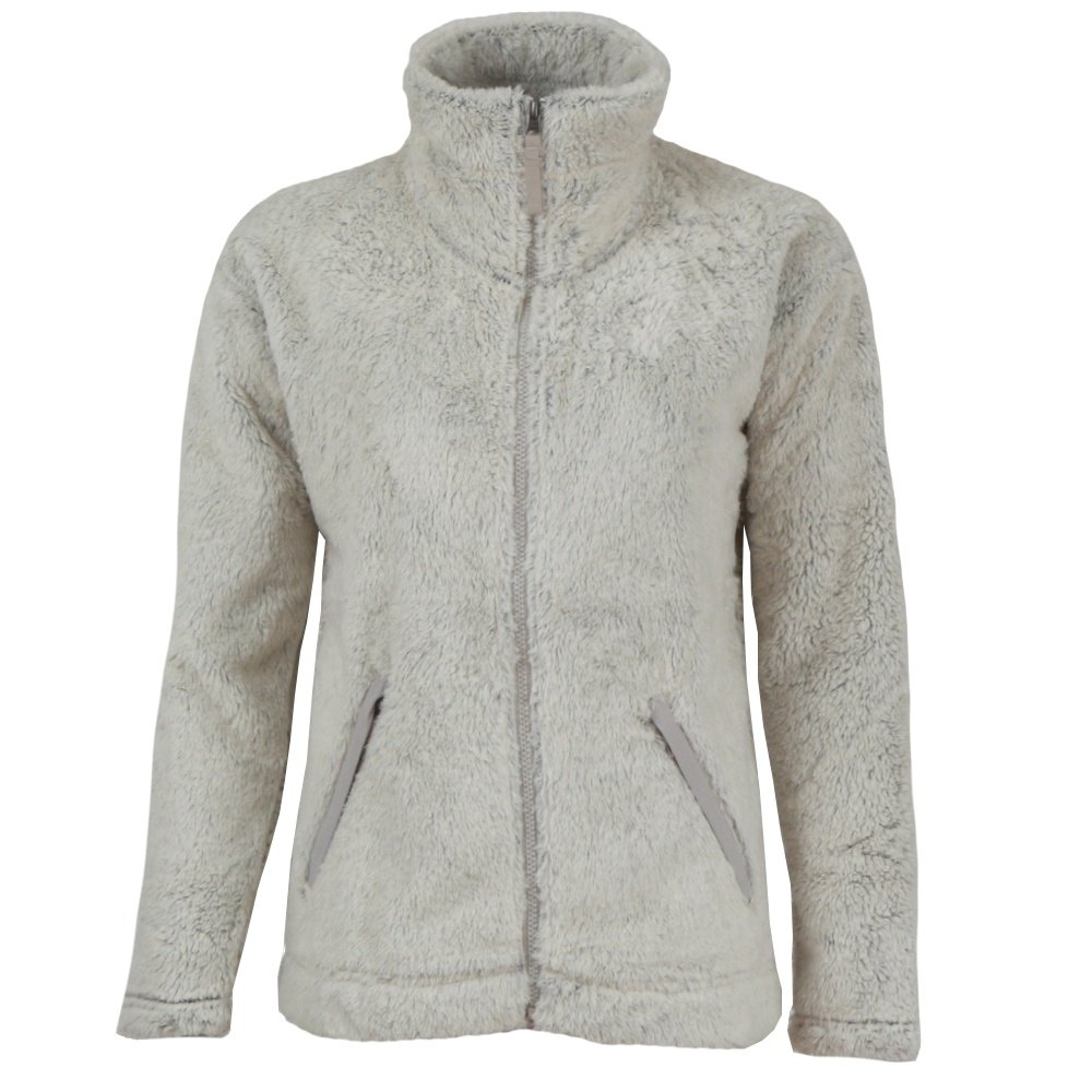 The North Face Furry Fleece 2.0 Jacket (Women's) - Vintage White/Dove Grey