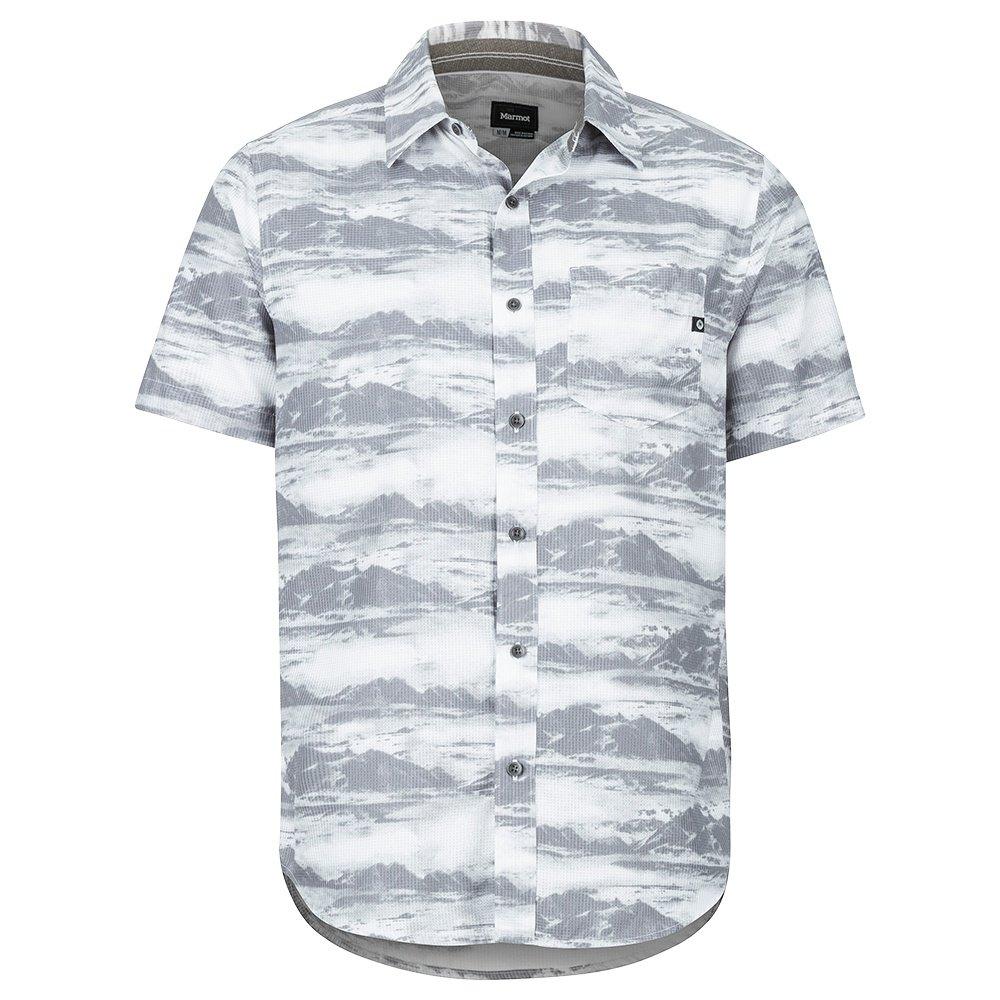 Marmot Syrocco Short Sleeve Shirt (Men's) - White Mountains