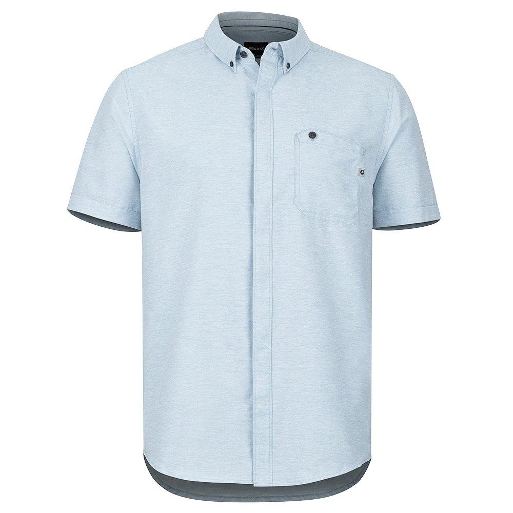 Marmot Cooper Canyon Short Sleeve Shirt (Men's) - Celestial Blue