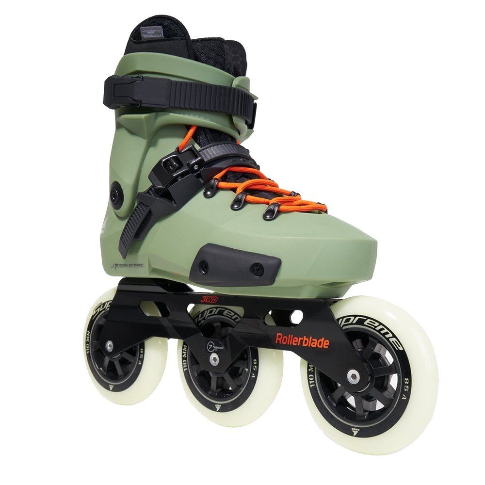 Rollerblade Twister Edge Edition #2 Inline Skate (Adults') - Olive