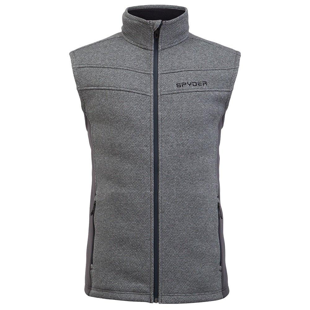 Spyder Encore Fleece Vest (Men's) - Ebony