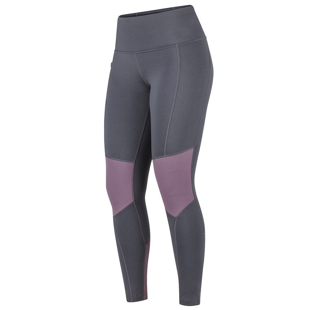 Marmot Trailbender Tight (Women's) - Dark Steel/Vintage Violet