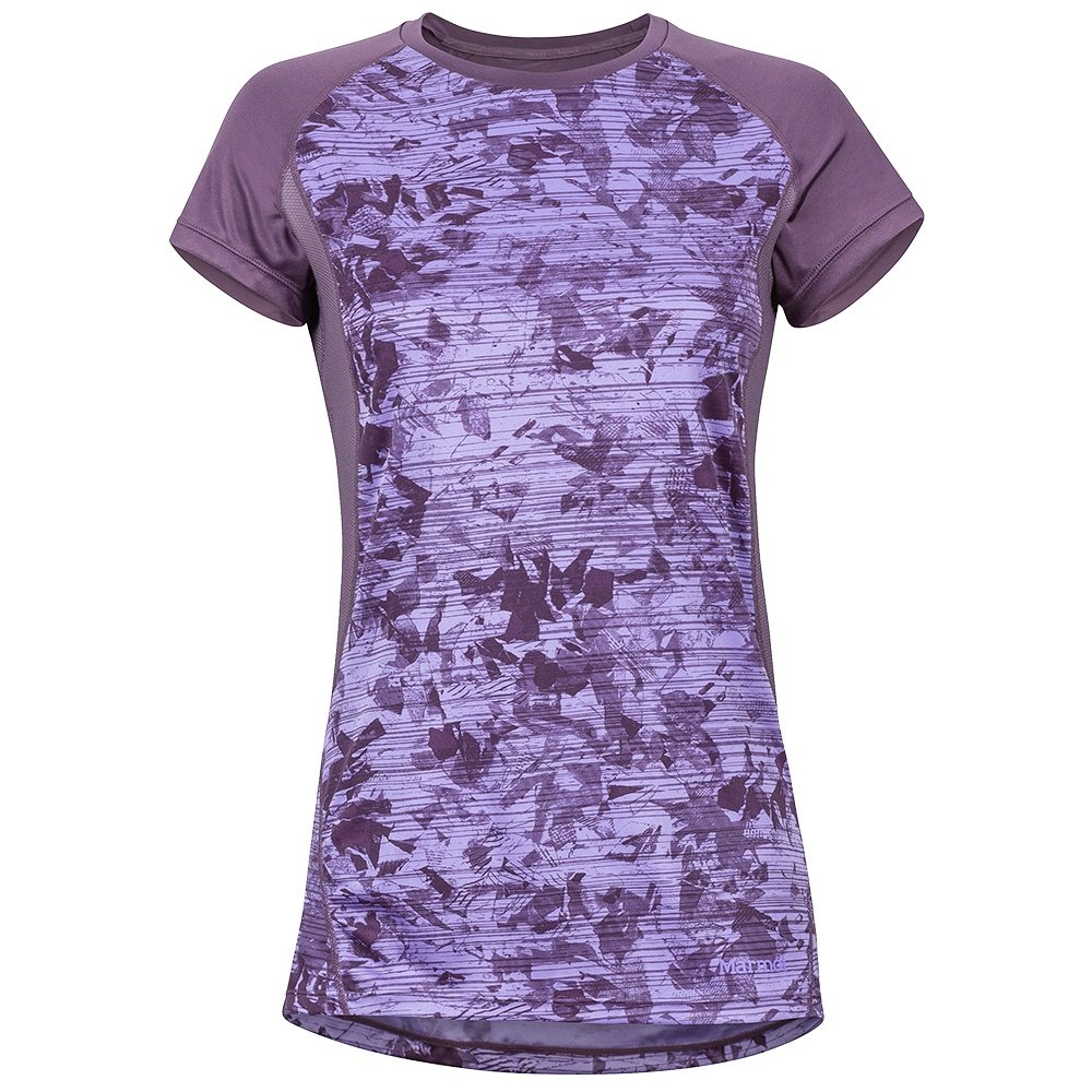 Marmot Crystal Short Sleeve Shirt (Women's) - Vintage Violet Mind Game