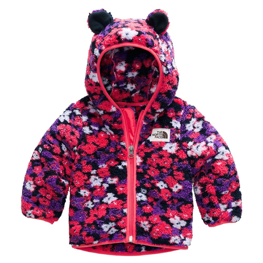 The North Face Campshire Bear Hoodie (Little Kids') - Paradise Pink Wildflower Print
