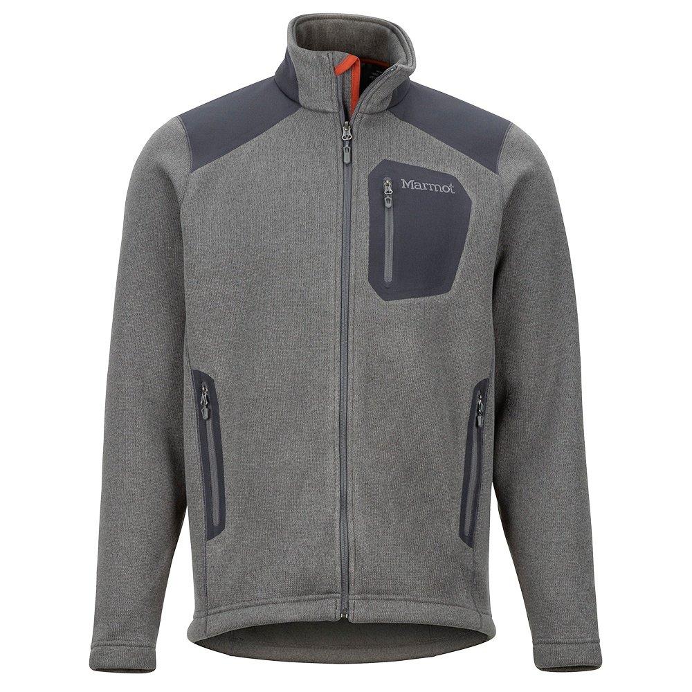 Marmot Wrangell Fleece Jacket (Men's) - Cinder/Dark Seed