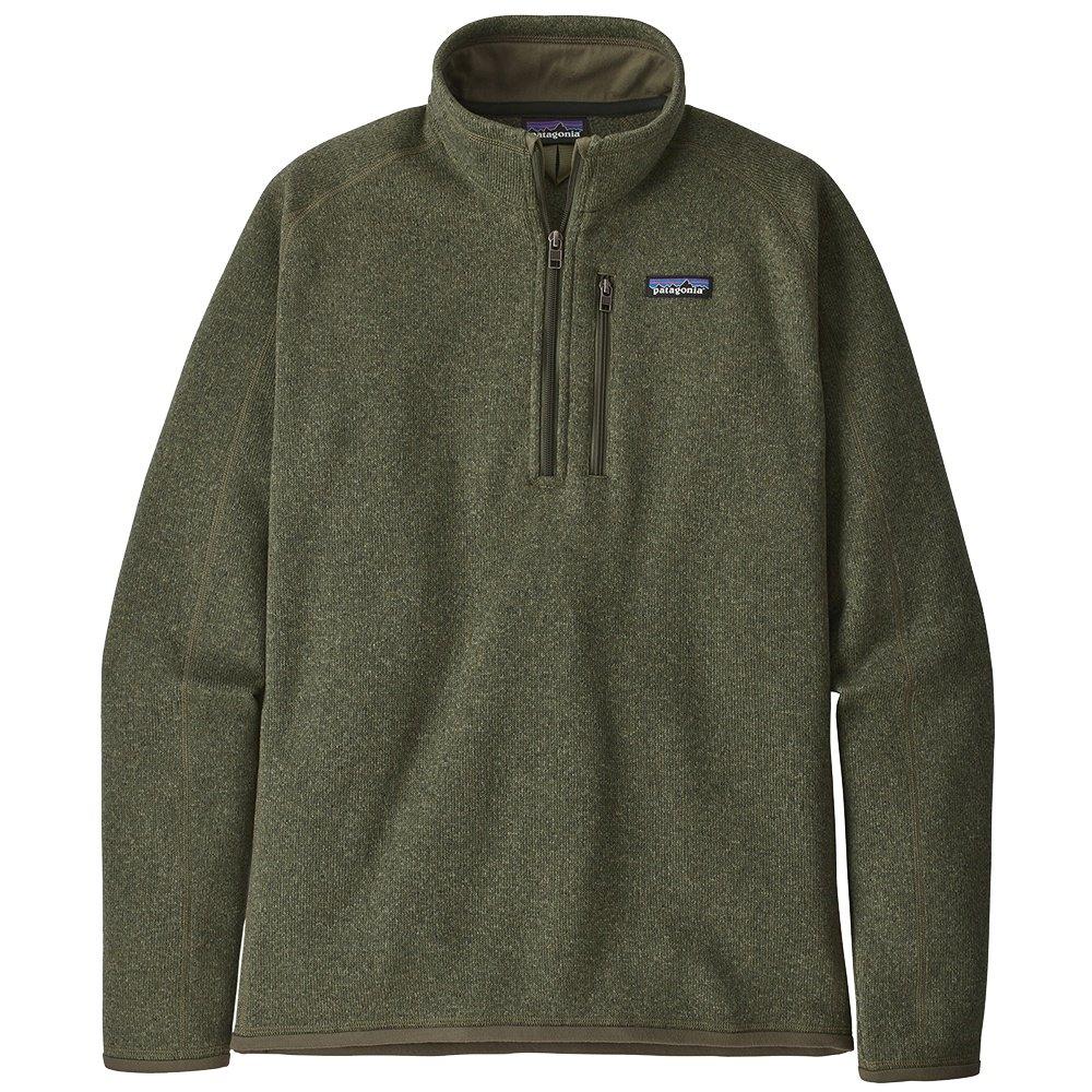 Patagonia Better Sweater 1/4 Zip Fleece Top (Men's) - Industrial Green