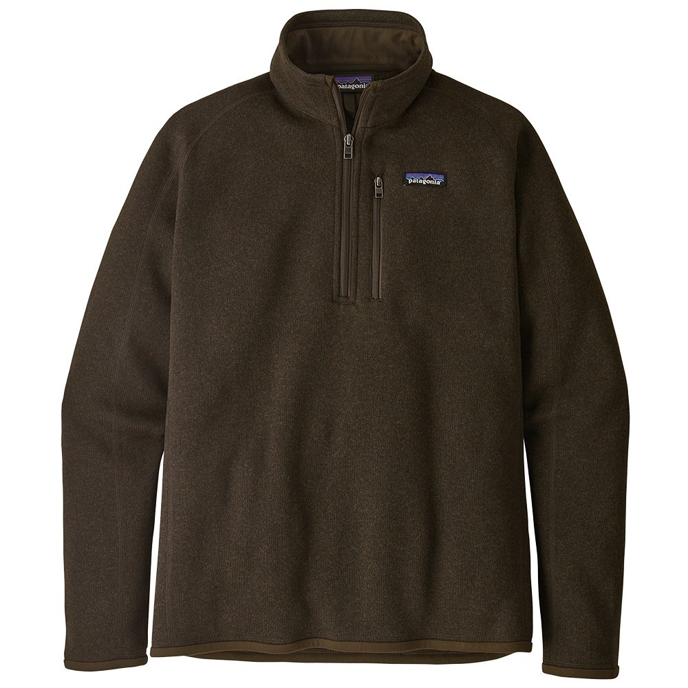 Patagonia Better Sweater 1/4 Zip Fleece Top (Men's) - Logwood Brown