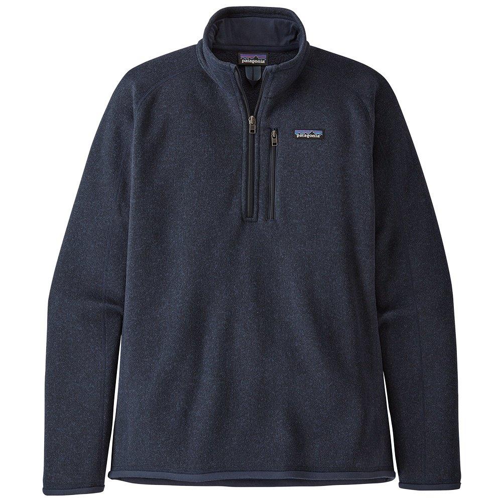 Patagonia Better Sweater 1/4 Zip Fleece Top (Men's) - Neo Navy