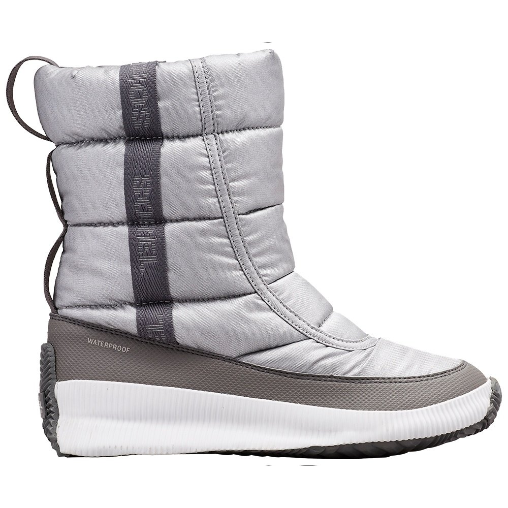 Sorel Out N About Puffy Mid Boot (Women's) - Pure Silver