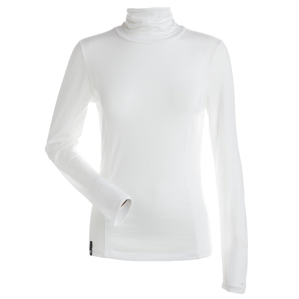 Nils Danielle Mock Turtleneck Baselayer Top (Women's) - White