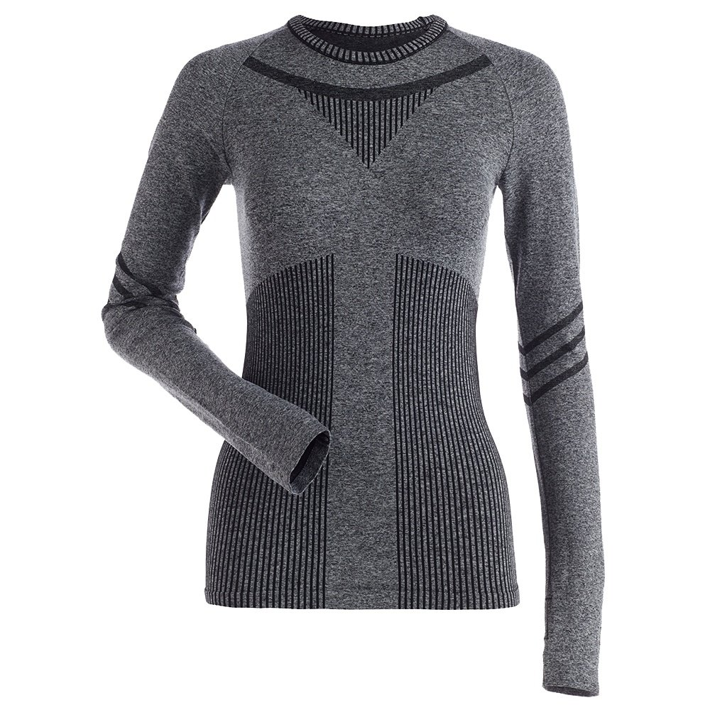 Nils Cindy Baselayer Top (Women's) - Black Heather