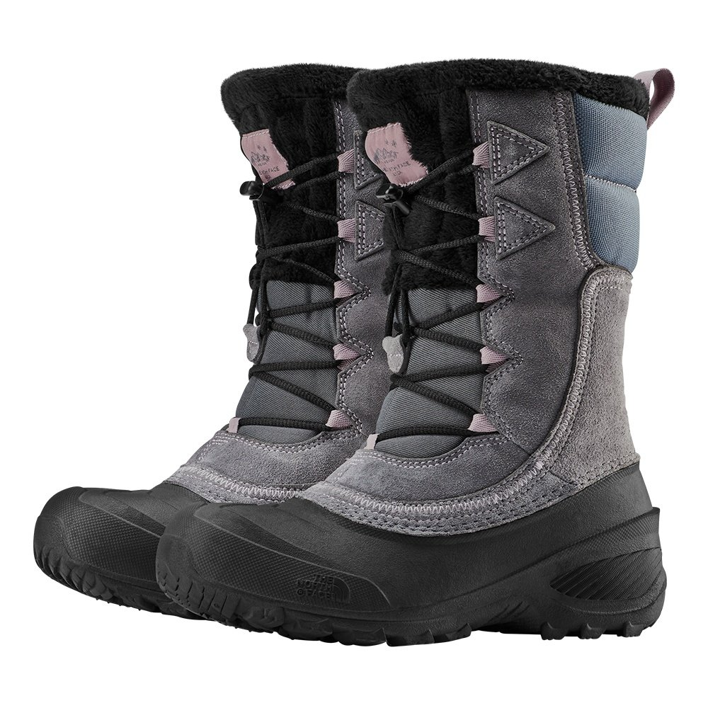 The North Face Shellista Lace IV Boot (Girls') - Zinc Grey/Ashen Purple