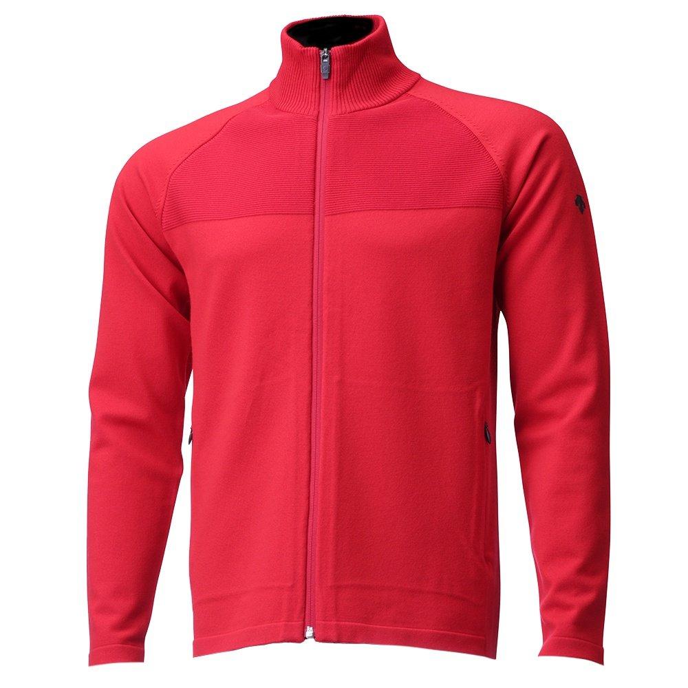 Descente Emmett Full-Zip Sweater (Men's) - Electric Red