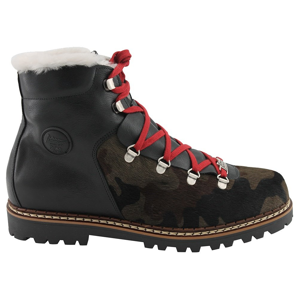 Ammann Luzern Winter Boot (Men's) - Black/Camo Cowhide