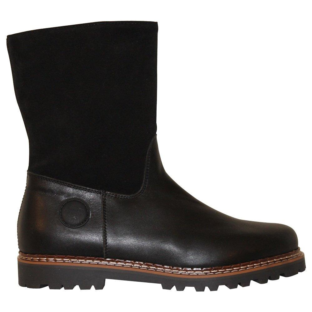 Ammann Crans Winter Boot (Men's) - Black Suede/Leather