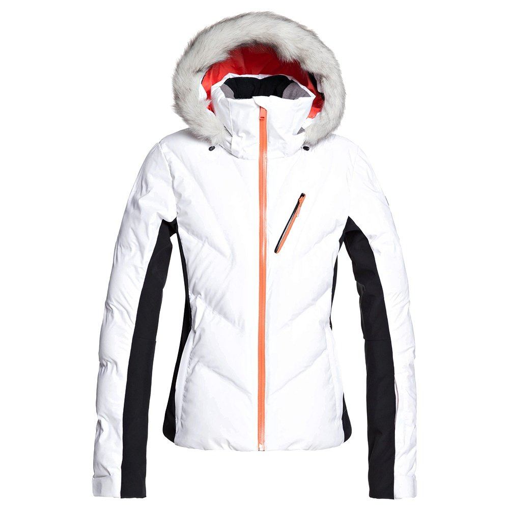 Roxy Snowstorm Insulated Snowboard Jacket (Women's) - Bright White