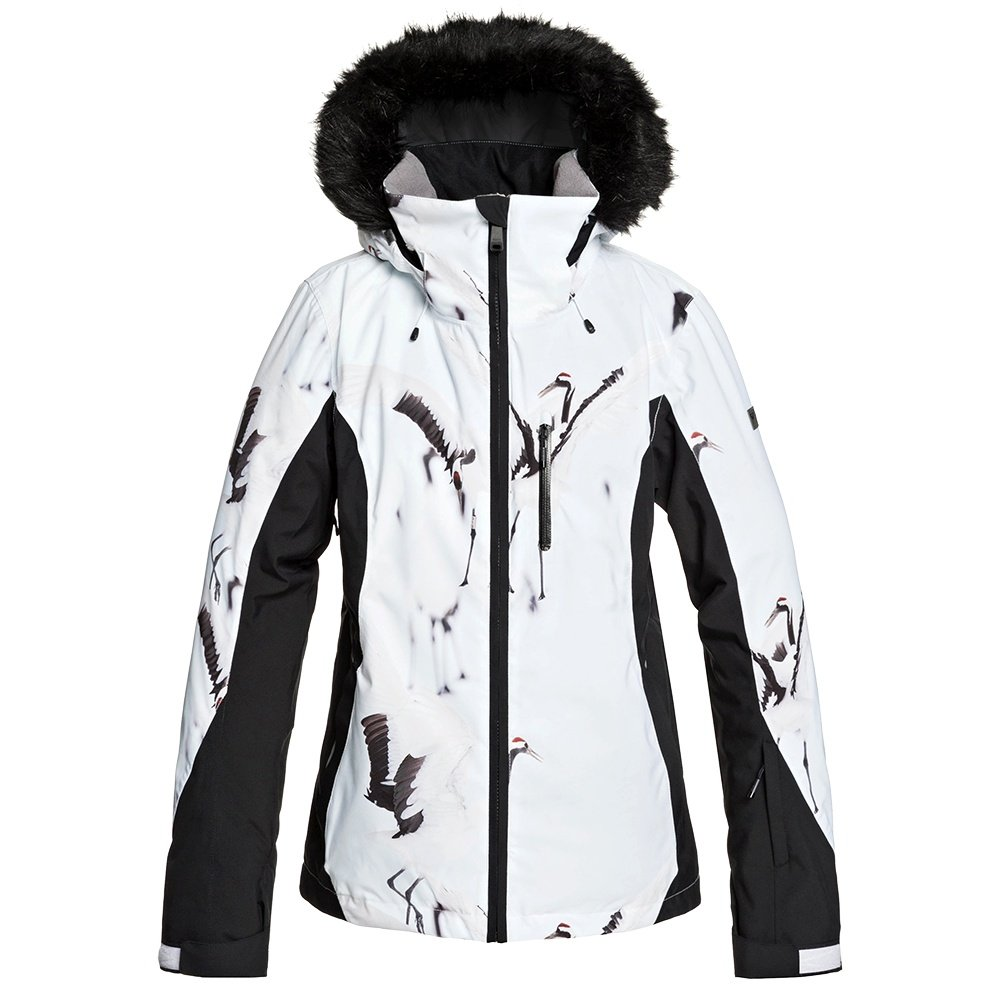 Roxy Jet Ski Premium Insulated Snowboard Jacket (Women's) - Mid Denim Wake Up