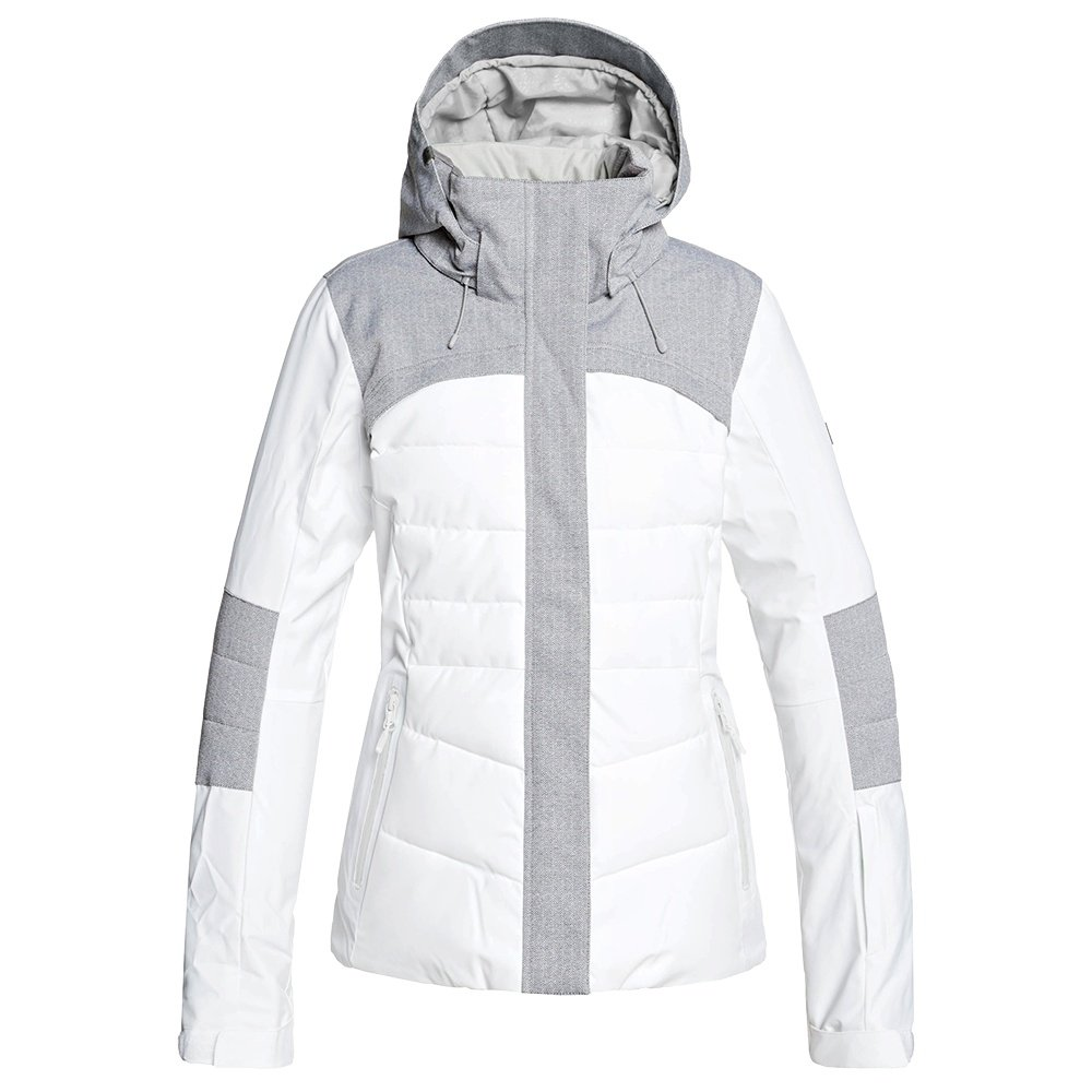 Roxy Dakota Insulated Snowboard Jacket (Women's) - Bright White