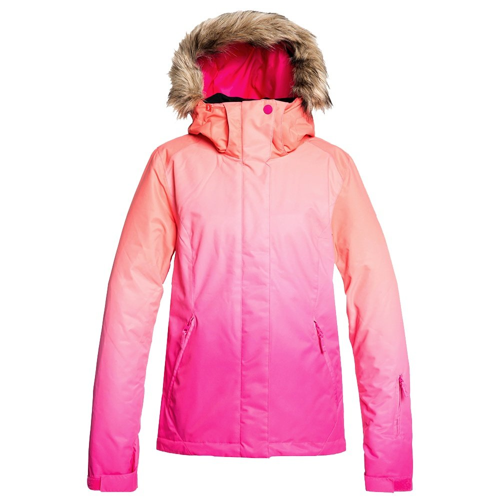 Roxy Jet Ski SE Insulated Snowboard Jacket (Women's) - Beetroot Pink Gradient